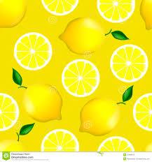 seamless lemon pattern citrus seamless pattern with lemons stock vector illustration of