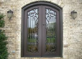 Steel Exterior Doors With Glass Facts About Steel Entry Doors And How To Maintain Them Rustic