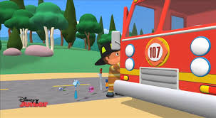 handy manny fire fighter manny