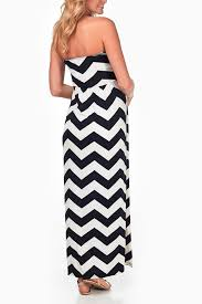 chevron maxi dress black white chevron maternity maxi dress