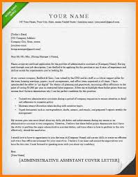 14 cover letter administrative assistant memo heading