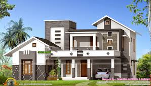 2400 sq ft mixed roof house kerala home design and floor plans