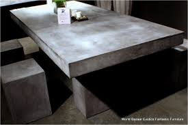 concrete patio dining table outdoor concrete dining table new trend concrete outdoor dining