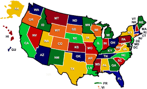 map usa all states real estate buying and selling throughout the united states and d c