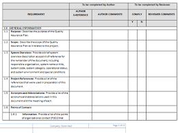 Quality Assurance Excel Template Perform Quality Assurance Templates Project Management Templates