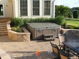 home design backyard patio ideas with tub bar gym the most