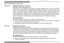 Financial Analyst Resume Samples by Financial Analyst Resume Examples Reporting Analyst Resume