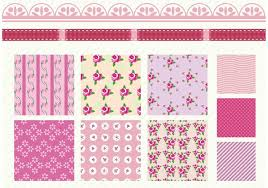 shabby chic rose patterns download free vector art stock