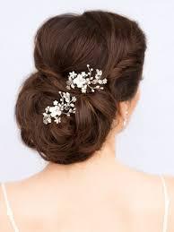 bridal hair pins adorable bridal flower hair comb juliet bridal hair