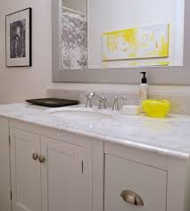 Grey Bathroom Fixtures 57 Best Ideas For Yellow And Grey Bathroom Redo Images On