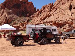 jeep offroad trailer m416 based military off road trailer build desert build with
