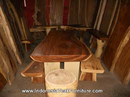 Slab Wood Bar Top Edge Wood Bar Top Bali