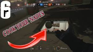 cook siege cook your nades rainbow six siege