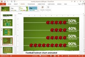 free powerpoint football playbook template funkyme info