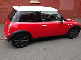 2002 red 1 6 mini cooper hatch in lytham st annes lancashire