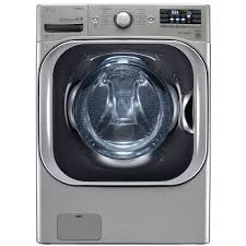 lg electronics 5 2 cu ft high efficiency front load washer with