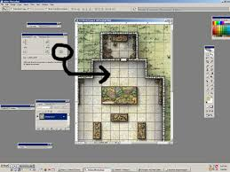 newbiedm tutorial printing battle maps to a 1 scale www select square and info