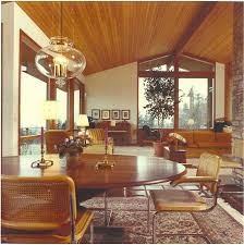 Interior Of The Papworth House C 1980 The Home Was Featured On