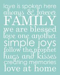 all things simple family word collage phrases
