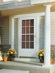 Exterior Door Sweeps by Exterior Emco Storm Door For Inspiring Front Door Design Ideas
