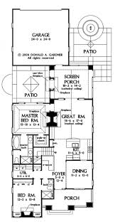 bi level home plans with garage four bedroom triple split house