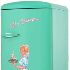 k hlschrank 50er design amerikanischer retro kühlschrank der 50er jahre in türkis