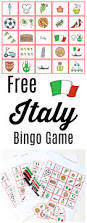 free italy bingo game printable activity for all ages u2022 mom