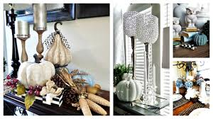 Vignette Home Decor Fall Home Decor 4 Ways To Style Fall Vignettes Youtube