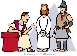 imagenes de jesus ante pilato reliartes jesús ante pilato dibujo