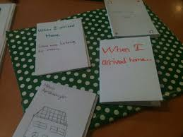 write the pattern of past tense and give exle past tenses a journey in tefl