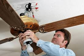 how to easily install a ceiling fan