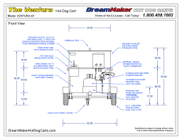 awesome free blueprints maker 3 ventura dog cart drawing
