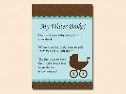 my water baby shower my water frozen baby cube baby baby