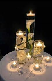 New Years Table Decorating Ideas by Candle Centerpieces For Tables Lv Designs