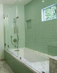 glass tile bathroom ideas delectable best 25 glass tile bathroom