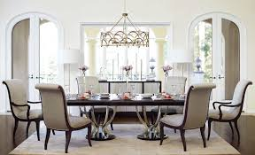 9 Piece Dining Room Set Bernhardt Miramont 9 Piece Dining Set With Double Pedestal Table