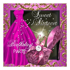 20 best elegant sweet 16 invitations images on pinterest 16th
