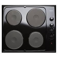 plaque cuisine plaque de cuisson électrique 4 foyers noir frionor genofri leroy