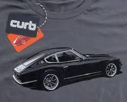 datsun z the curb shop curb datsun 240z t shirt