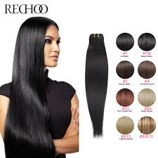 1 inch of hair peruvian remy human hair weave straight 100 human hair weaving 1