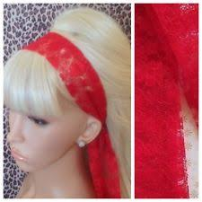 80s hair styles with scarves lace head scarf clothes shoes accessories ebay