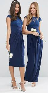 152 best navy blue bridesmaid dresses images on pinterest navy