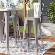 bar stool outdoor patio bar stools you ll love wayfair