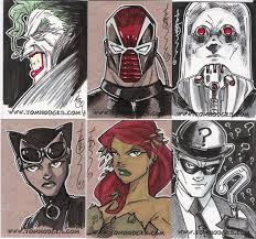batman sketch cards 02 by hodges art on deviantart