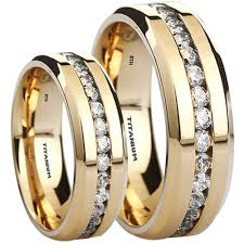 wedding bands sets his and matching wedding rings wedding band sets for him and cheap wedding