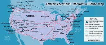 amtrak map usa amtrak vacations official site destinations us canada