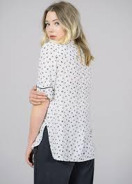 keyhole blouse baum und pferdgarten marny keyhole blouse garmentory