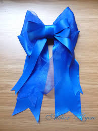 ribbon hair clip blue ribbon hair clip by ilyere on deviantart