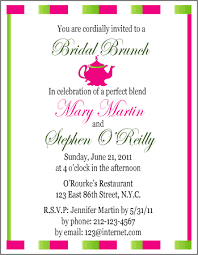 bridal brunch invitations template template for bridal shower dinner party invitation