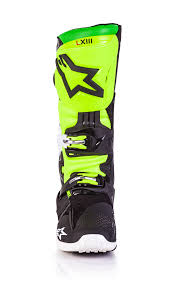 motocross boots alpinestars alpinestar vegas le tech 10 motocross boots black white green